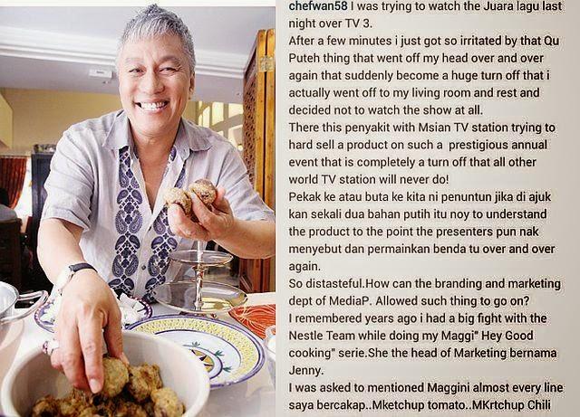 Chef Wan Turut Naik Hantu Dengan Qu Puteh
