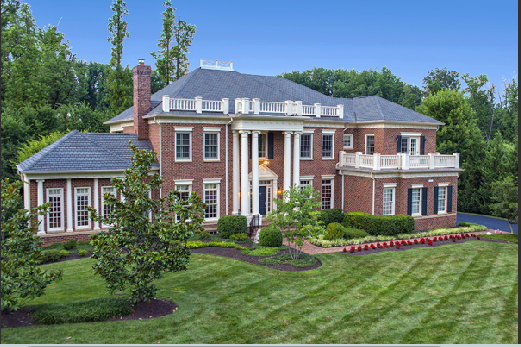 Eileen 39 s home design a grand estate in mclean va for Houses with inlaw suites for sale near me