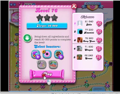 candy crusher tutorial for level 76 home of apk level