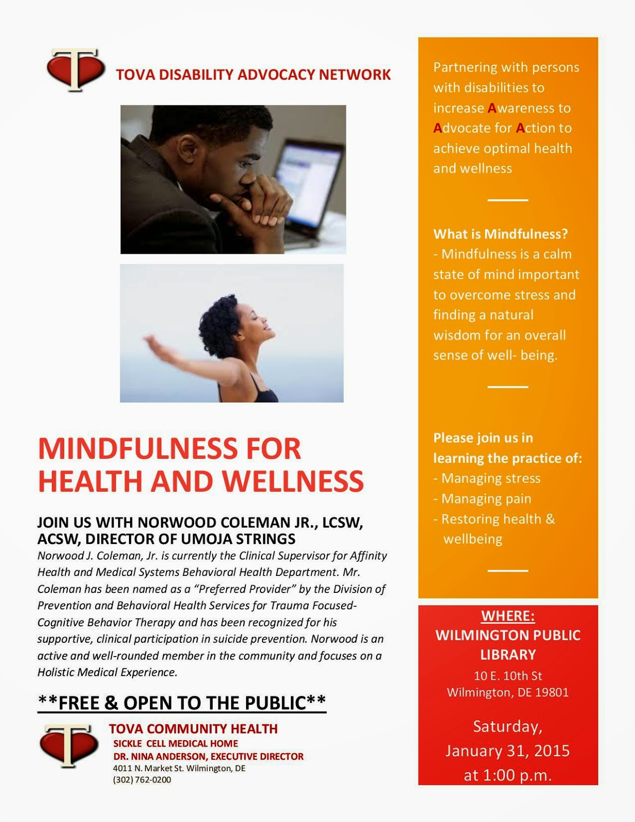 mindfulness and health Mindfulness can be defined as paying attention to the present moment with openness, curiosity, and acceptance mindfulness in every day experiences is best strengthened and supported by a regular meditation practice.