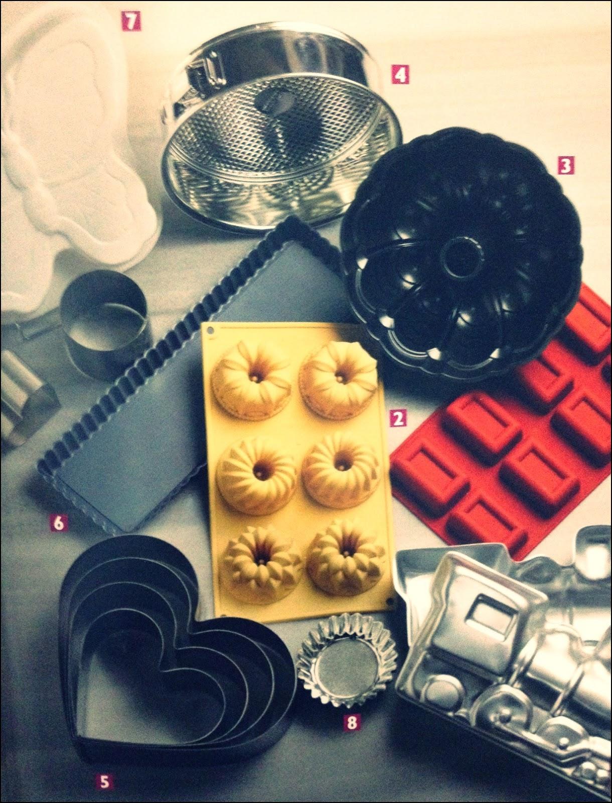 Kelepçeli Kek Kalıbı Nasıl Kullanılır