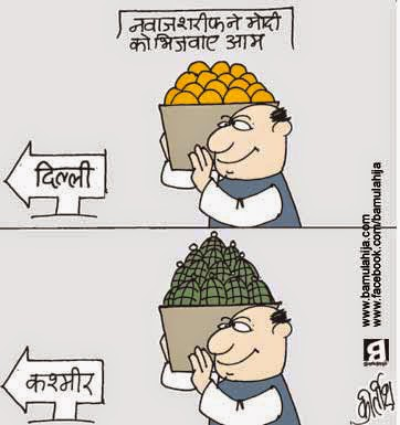 nawaz sharif cartoon, Pakistan Cartoon, india pakistan cartoon, Terrorism Cartoon, Terrorist, cartoons on politics, indian political cartoon