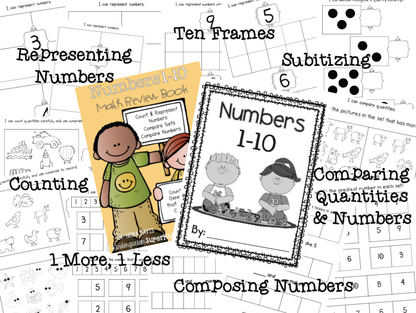 http://www.teacherspayteachers.com/Product/Math-Student-Book-Numbers-1-10-1482783