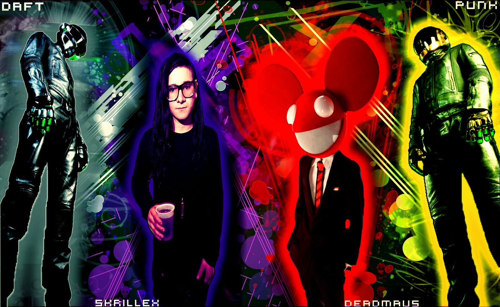 Deadmau5 HD WallpapersDeadmau5 And Skrillex And Daft Punk