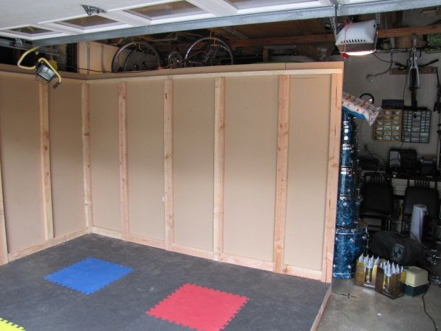 Dawbox Soundproof Drum Room Right And Front Wall