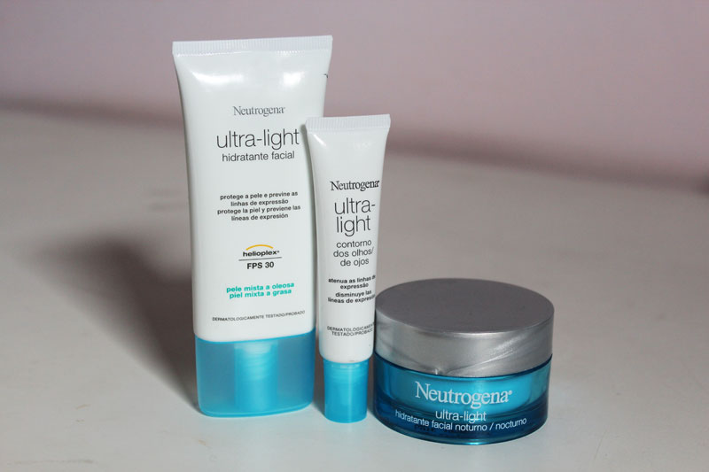 neutrogena1 Linha Ultra Light da Neutrogena