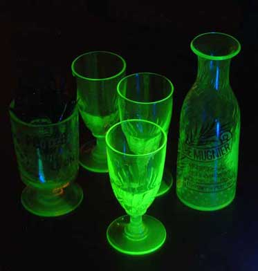 from Angel dating uranium glass