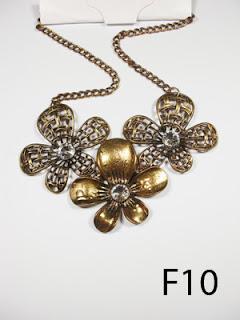 kalung aksesoris wanita f10
