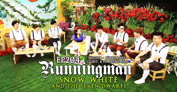 Running man ep 204 Snow White & The 7 Dwarfs