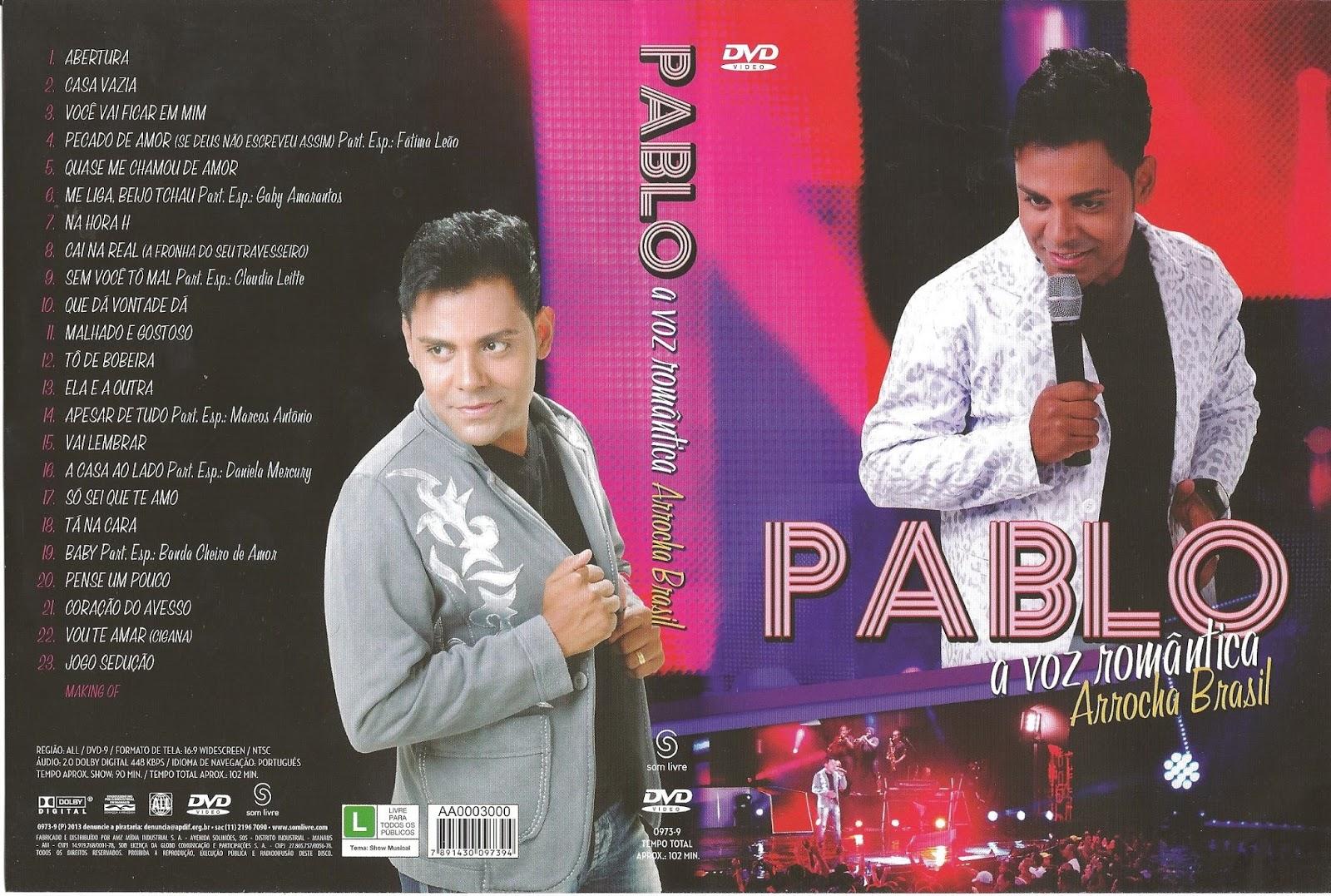 Pablo: A Voz Romântica Arrocha Brasil DVDRip XviD 2013 Pablo   A Voz Romantica   Arrocha Brasil   Capa Show DVD