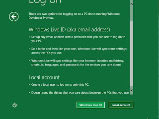 I don't want to log in with a Windows Live ID