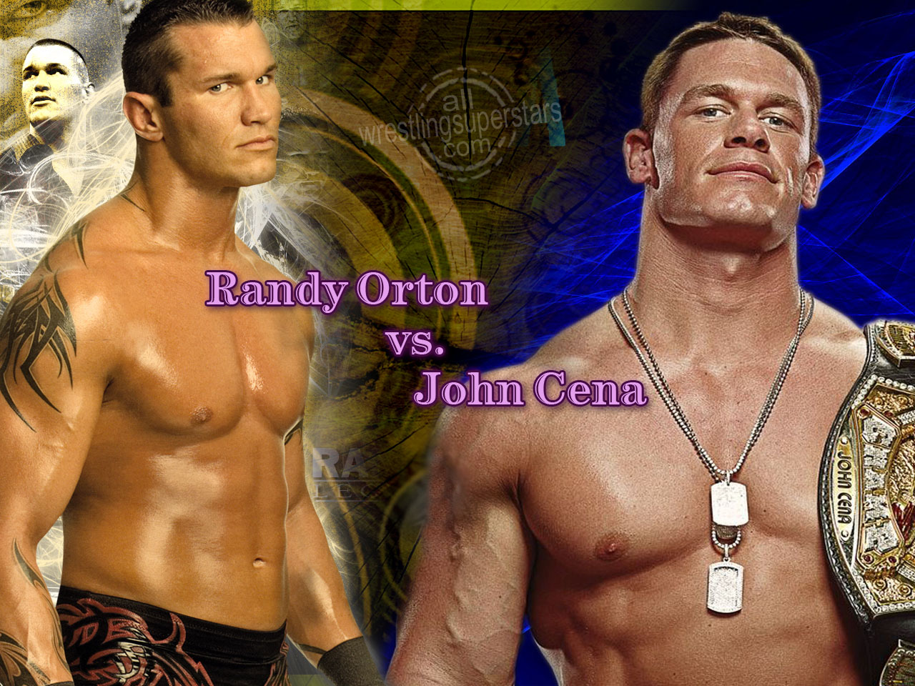 Email This BlogThis  Share to Twitter Share to Facebook Share to    Wwe John Cena And Randy Orton