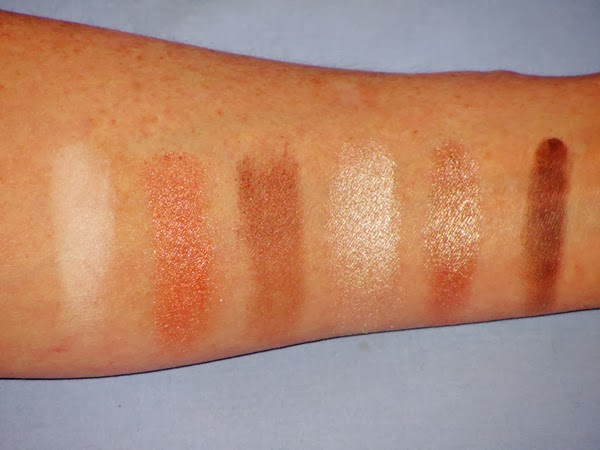 Stila Portrait of a Perfect Eye Shadow Palette Swatches