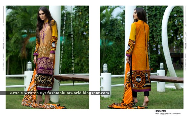 Firdous Spring Collection 2015 Magazine