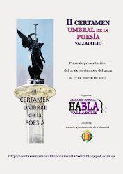 II CERTAMEN UMBRAL DE POESÍA