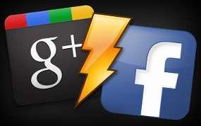 War Facebook dan Google in 2012