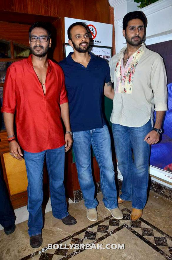 Ajay Devgan, Rohit Shetty, Abhishek Bachchan - (2) -  Asin, Prachi Desai Bol Bachchan Stills