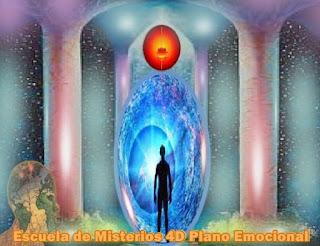 Ahora que han completado sus viajes a través de la Escuela de Misterios del Bajo Plano Astral, continuarán sus travesías por la 4ta Dimensión, introduciéndose en el Subplano emocional.