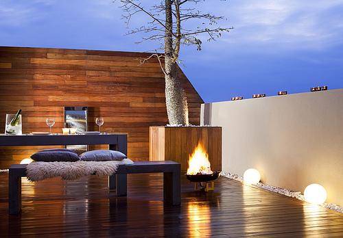 Como iluminar una terraza gallery of formentera tumbona - Como iluminar una terraza ...