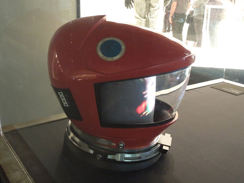 Dave Bowman spacesuit helmet 2001 A Space Odyssey