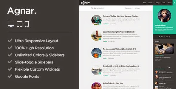 Best Responsive WordPress Personal Blog Theme