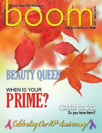 Wendy Is the Editor of BOOM, formally Prime Time Living Magazine