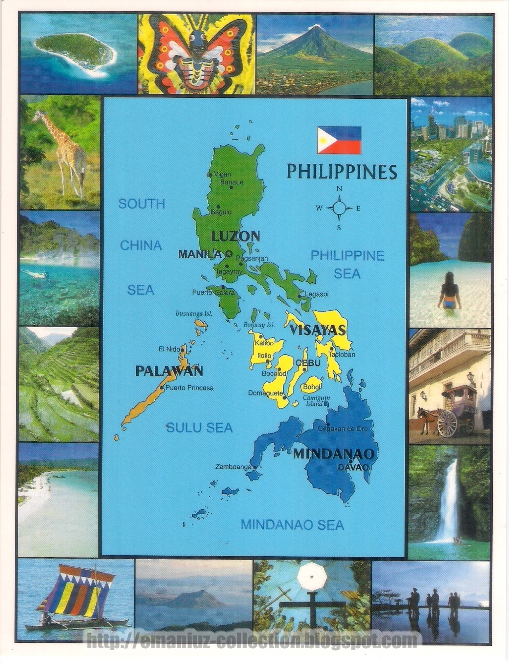 The Philippine Landmarks Today Official National Symbols Of The
