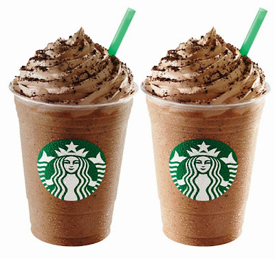 Mocha Cookie Crumble Frappuccino, Chocolate Cookie Crumble Frappuccino