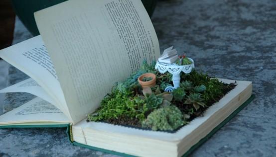 Balletslippers fairy garden for Garden design ideas book