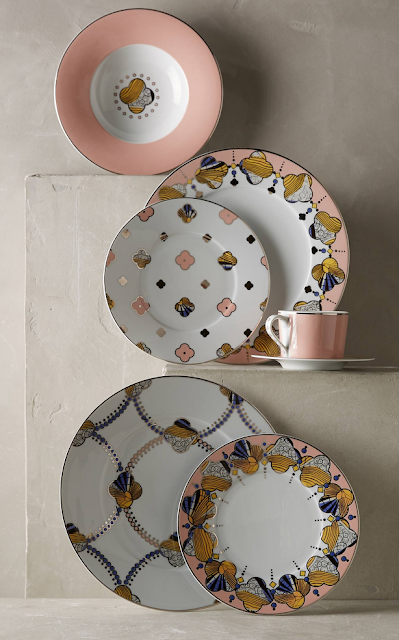 Anthropologie Cliveden Dinnerware Set