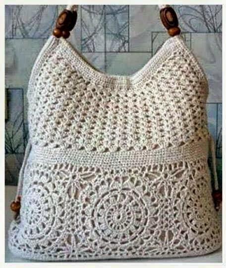 Bolsa De Mao Em Croche : Ivelise feito ? m?o bolsa de croch?