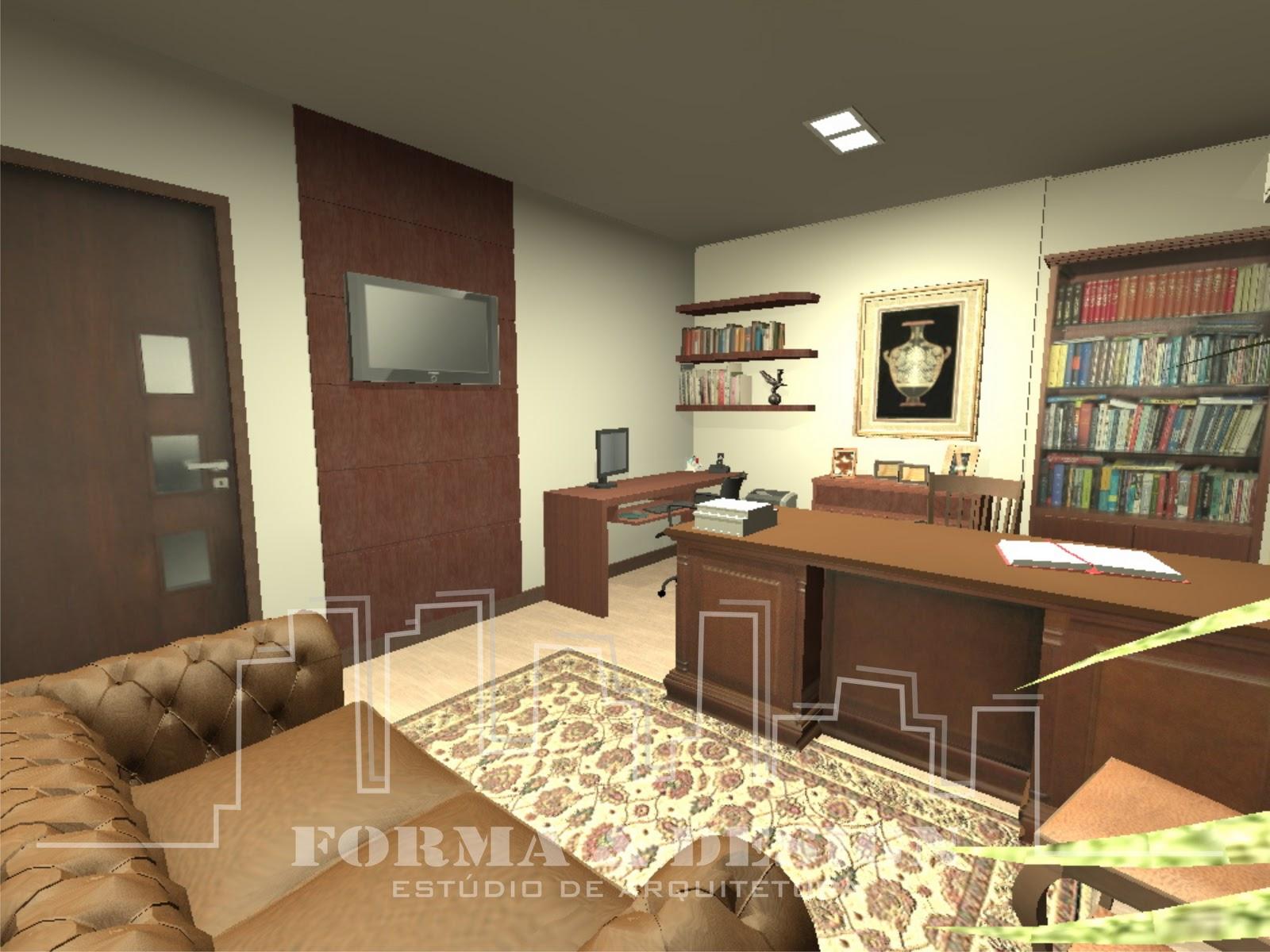 Forma e Design Estúdio de Arquitetura: Escritório de Advocacia #A29429 1600x1200