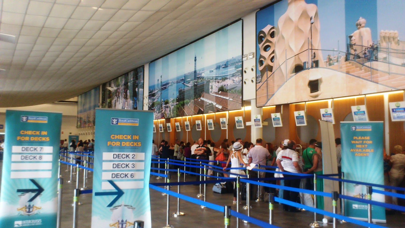 Primeira viagem de Cruzeiro!