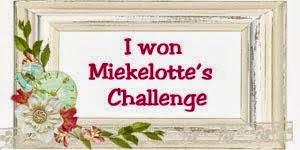 gewonnen bij Miekelotte