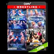 WWE Wrestlemanias 21,22,23,24  (2005,2006,2007,2008) HDTV 720p Dual Latino/Ingles