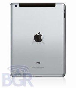 Spesifikasi Bentuk iPad 2