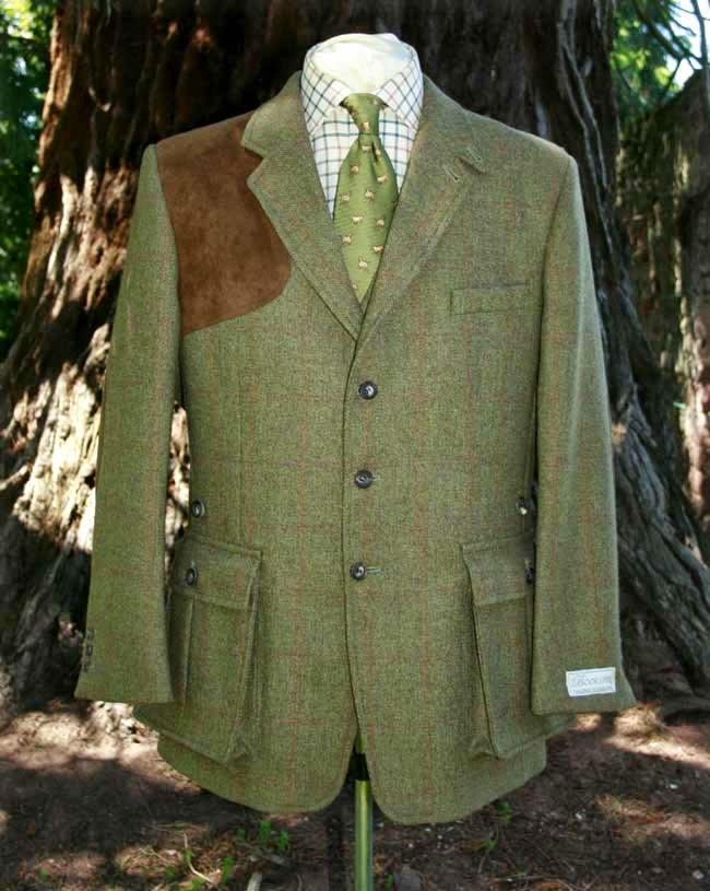 Origen chaqueta americana