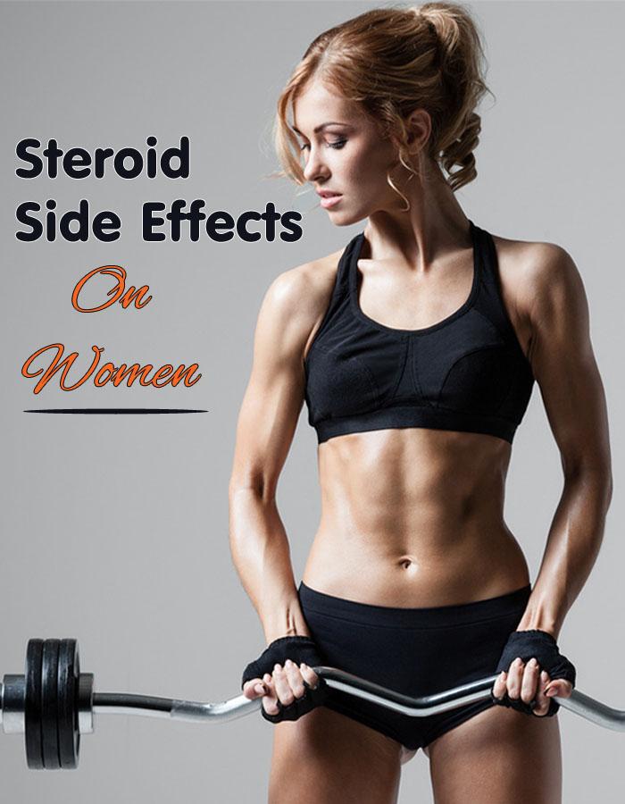 Steroid Side Effects on Women