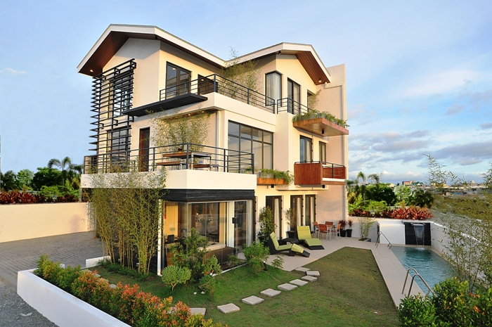 Dmci 39 s best dream house in the philippines house design for Best house balcony design