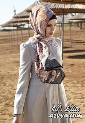 صور عبابات تركي ، لفات حجاب تركي ، اشكال حجاب