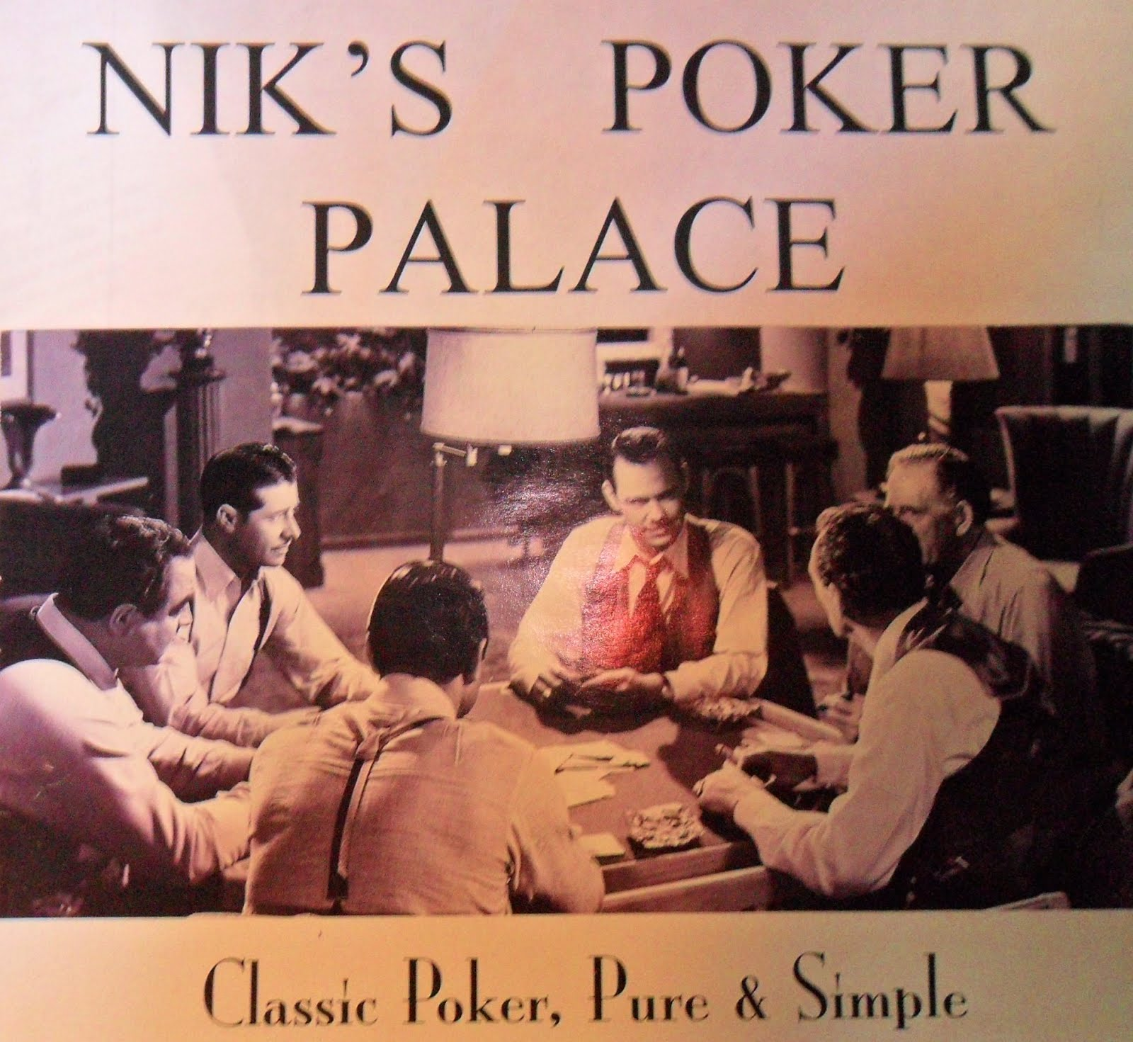 Welcome to Nik's Poker Palace!