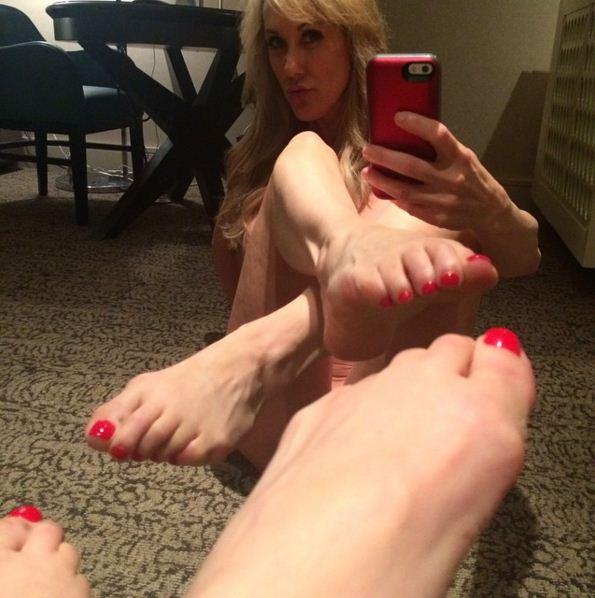 Brandi Love Hot Feet Image
