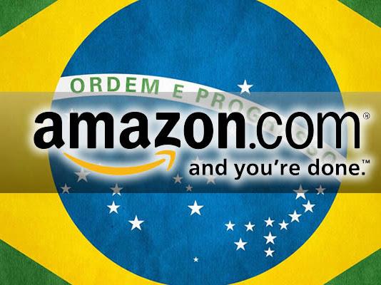Amazon será inaugurada no Brasil dia 5 de dezembro! Segundo Exame e Folha de S. Paulo