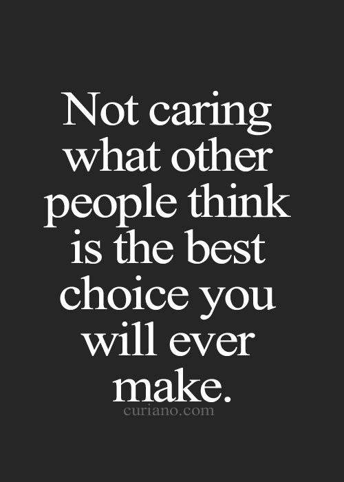 quotes about not caring -#main