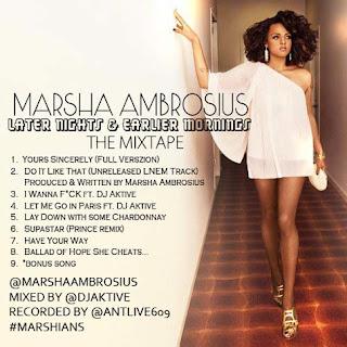 Audio// Marsha Ambrosius – Let Me Go In Paris (Niggas In Paris Remix)