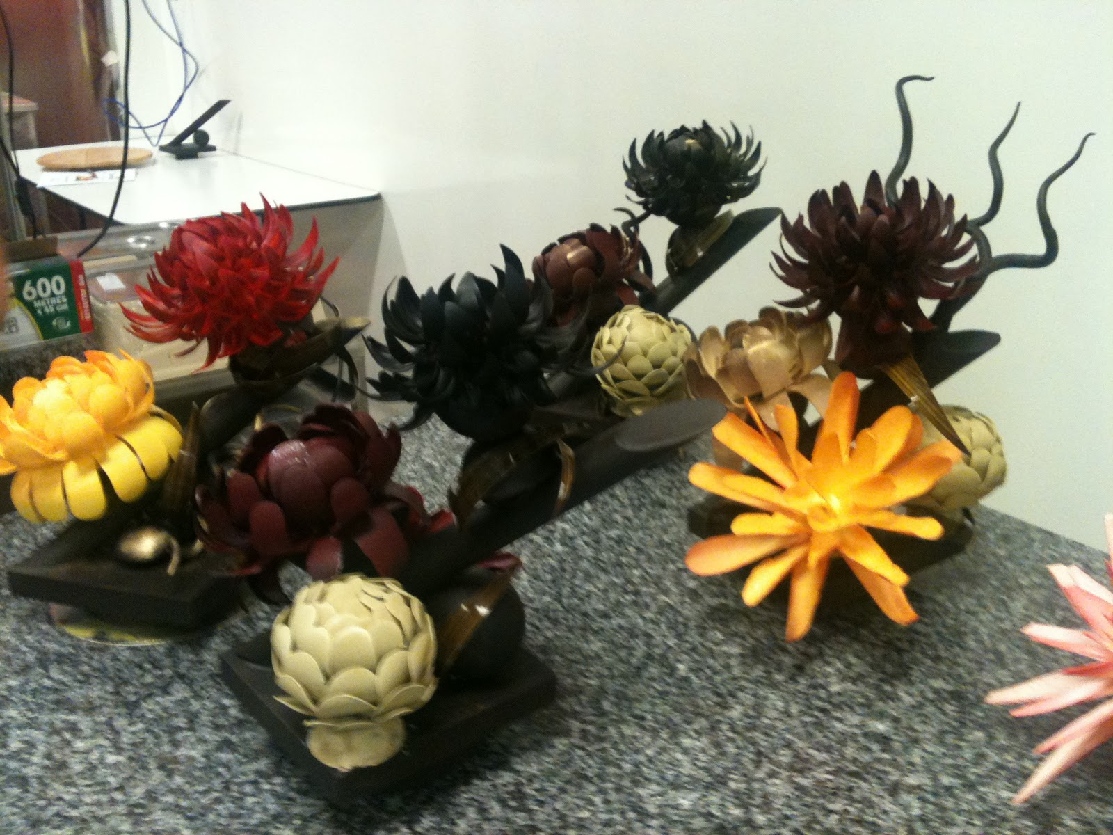 Flowers In Chocolate