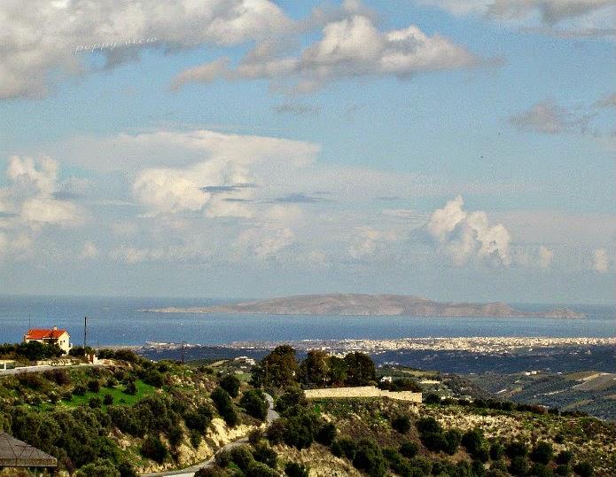 Cretan Sea and Sky