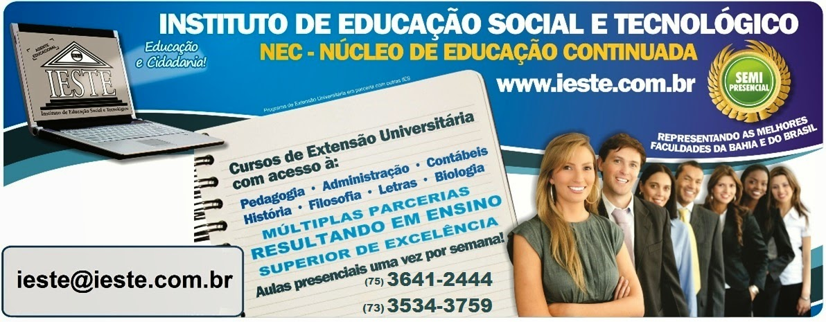IESTE EDUCAIONAL  - Instituto de Educação Social e Tecnológico