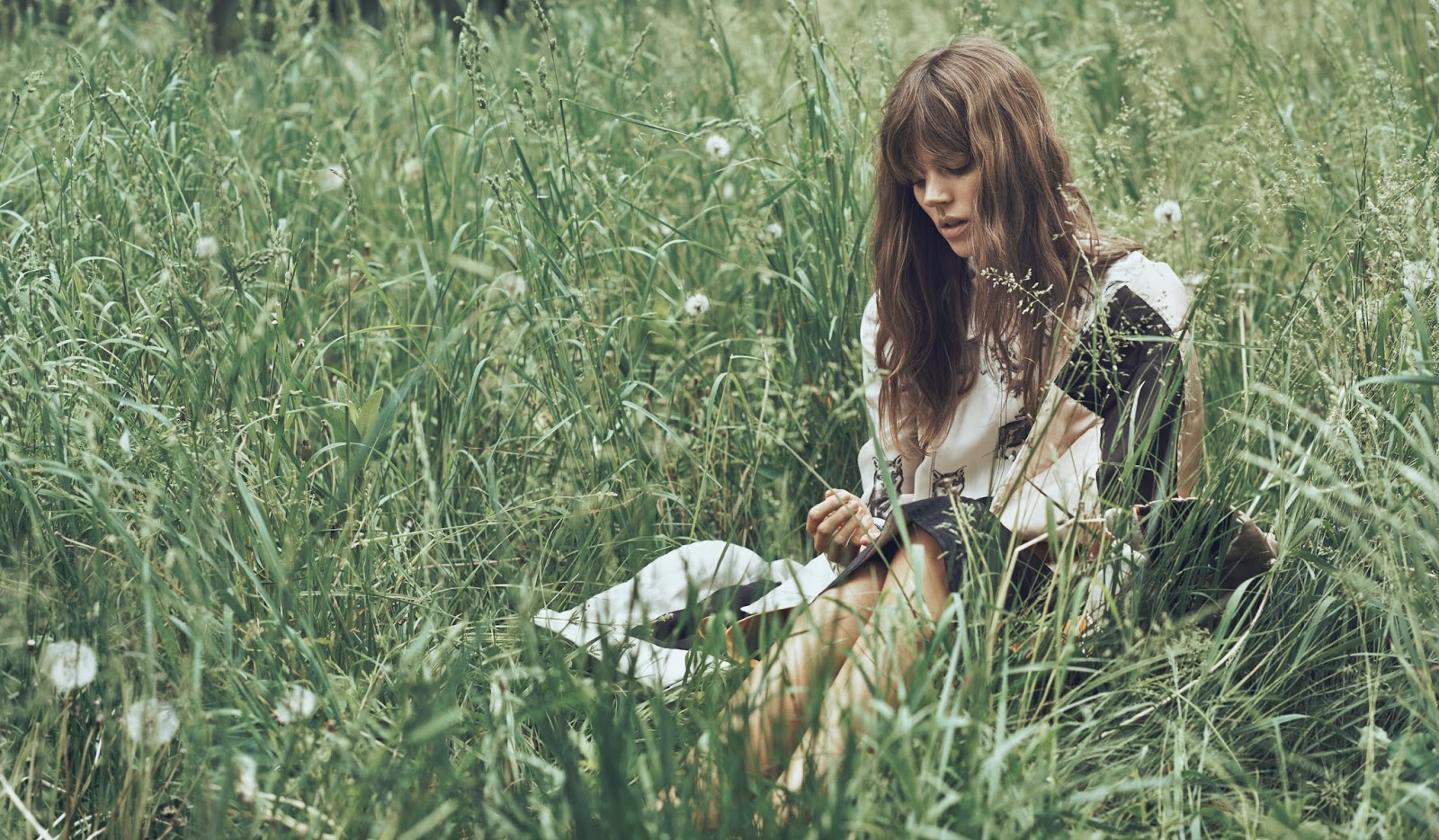Natural beauty. Freja Beha Erichsen in WSJ September 2015 (photography: Lachlan Bailey, styling: Udivine Poiblanc) via fashioned by love / british fashion blog