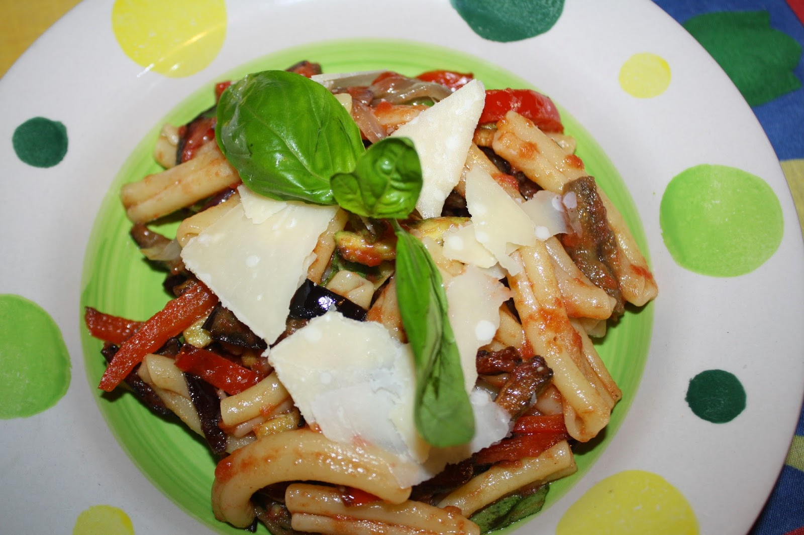 pasta con le verdure